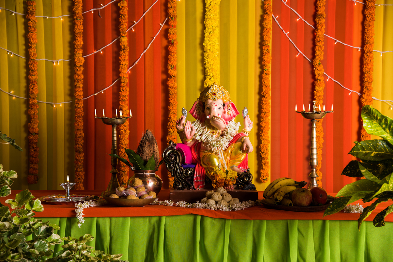 Ganesh Chaturthi Home Decoration Ideas – Make Your House a Temple for Lord Ganesha